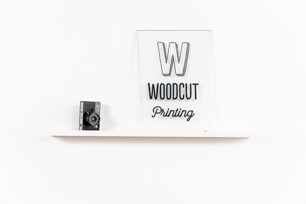 woodcut 30x40 sklobraz